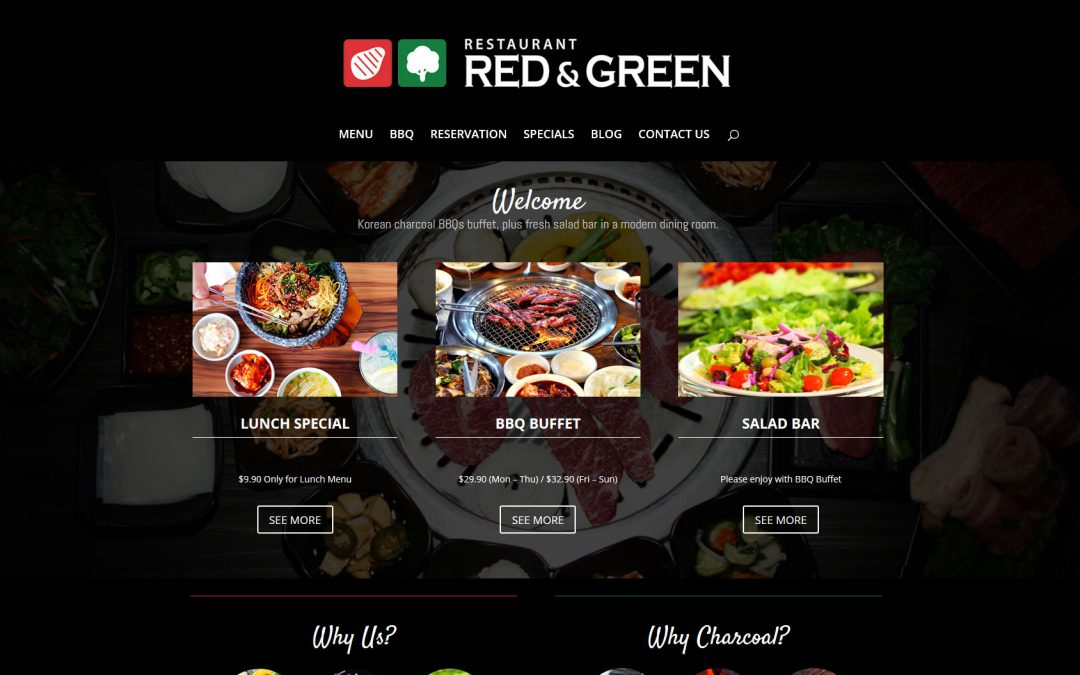 Restaurant Red & Green