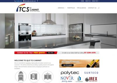 TCS – Kitchens & Cabinetry